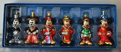 Mickey Mouse Through The Years Ornaments