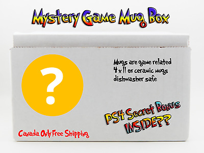 Mystery Game Mug Box! Includes PS4 Related Bonus. Gamers Secret Gifts