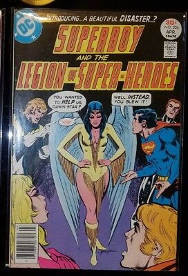 Superboy and the Legion of Super-Heroes #226 (1977) 1st Appearance Dawnstar