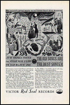 1929 vintage ad for Victor Red Seal Records -37