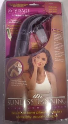 Visage Naturel Home Airbrush Sunless Tanning System With Tanning Solution NEW