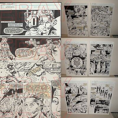 MARVEL comics ORIGINAL artwork WARHEADS MyS-Tech MEPHISTO pages 1 to 6  L@@K