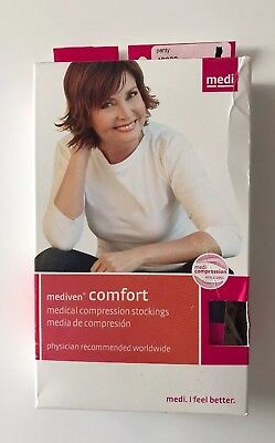 New Mediven Comfort Panty 20-30 Compression Closed Toe Natural Stockings Sz III