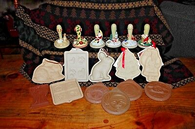 Brown Bag Cookie Stamps & Molds and others Huge Collection (16)