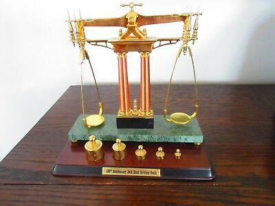 Franklin Mint150Th Anniversary Gold Rush Scale