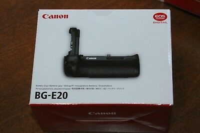 Genuine Canon Battery Grip Bg-E20 For 5D Mark 4 Iv New!