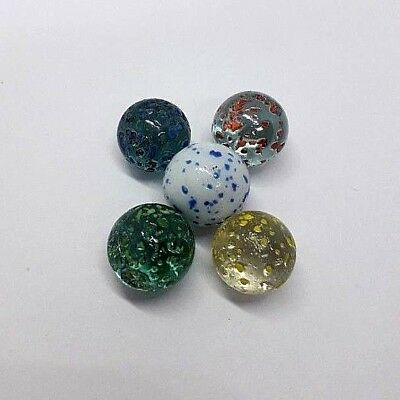 Vintage Antique Marbles old special design glass art for collectors Rare Colors
