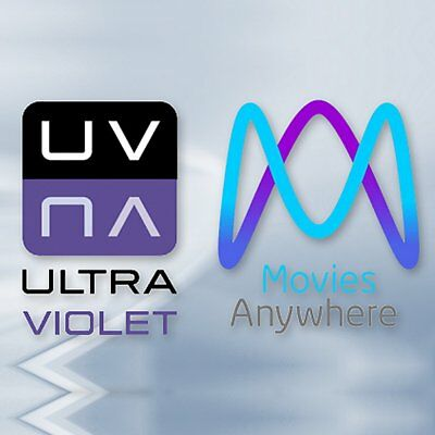 PICK ONE Movies Anywhere / UltraViolet Digital Copy Code