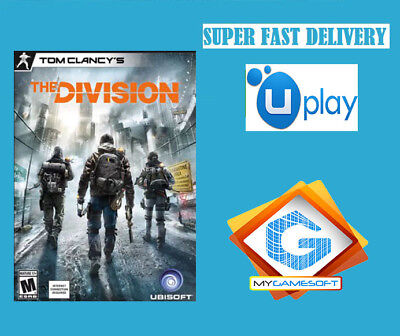 Tom Clancy's The Division PC Uplay Key GIFT EUROPE SUPERFAST Delivery