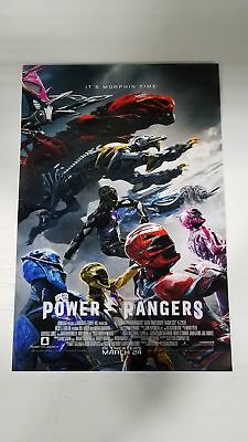 "Power Rangers Morphing Time 13"" x 20"" Movie Poster"