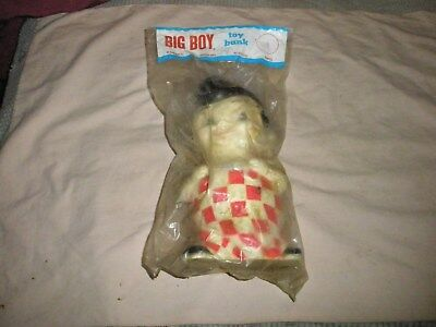 Vintage Bob's Big Boy Doll Bank New in Package