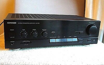 Quality Kenwood KA-1010 Integrated Amplifier with MM Phono Stage for Turntable