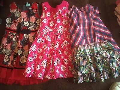4 Piece job lot girls clothes Summer/party Dresses Ralph Lauren Skirt Age 5-6