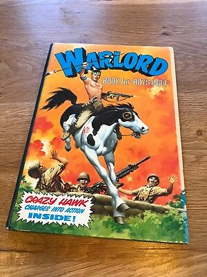 Warlord Book for Boys Annual 1984 Good Condition
