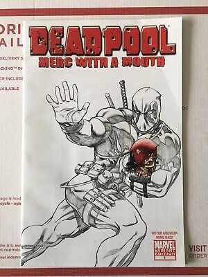 Deadpool: Merc with a Mouth #1 SDCC Sketch Variant MCGUINNESS
