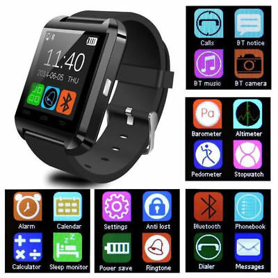 2019 Smart Watch Bluetooth Anti-lost Camera Phone Mate For iPhone Samsung IOS