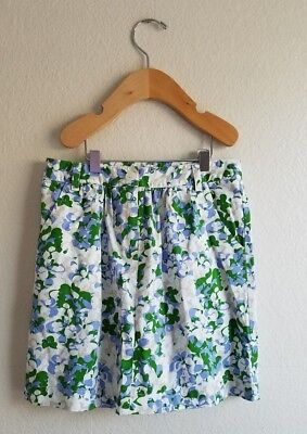 Brookes Brothers Girls Size 8 Floral Skirt