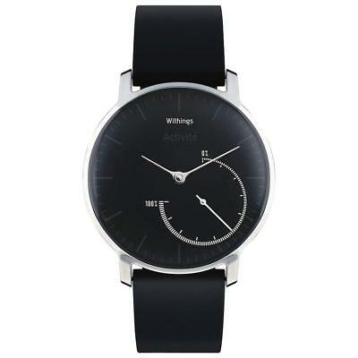 Withings Activite Steel Activity and Sleep Tracking Watch Black HWA01_68