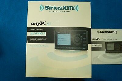 XM OnyxEZ Sirius Satellite Radio Motorcycle Car Kit Music Harley Touring Stereo