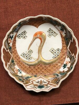 Antique small japanese plate