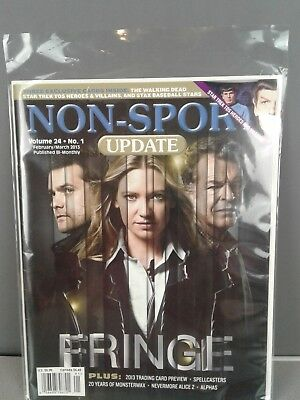 Non-Sport Update  Fringe Volume 24 No. 1 February/March 2013 in plastic sleeve
