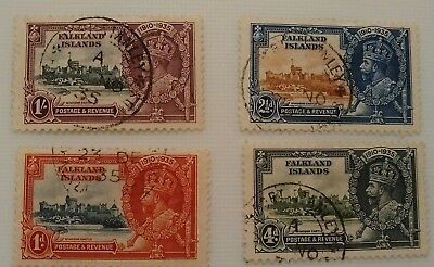 Falkland Islands 1935 Windsor Castle Set Of 4