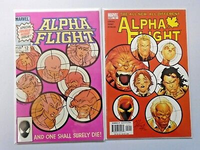 Alpha Flight #12 (1st Series) and #12 (3rd Series) - see pics - 8.0 - 1984 2005