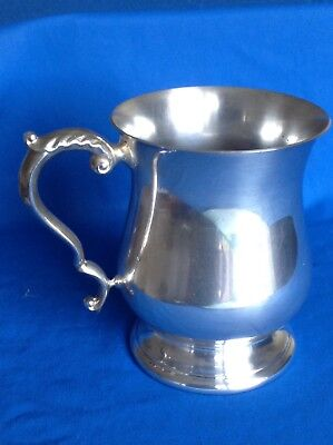 Vintage Or Antique Silver Plated Tankard