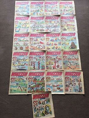 1972 WHIZZER and CHIPS comics x 21