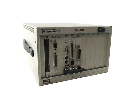 National Instruments PXI-1000B PXI CompactPCI Chassis+PXI-8170+SCSI 100+GPIB