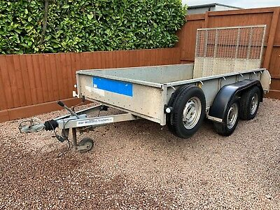 Ifor Williams GD105 plant digger tractor builder ramp...
