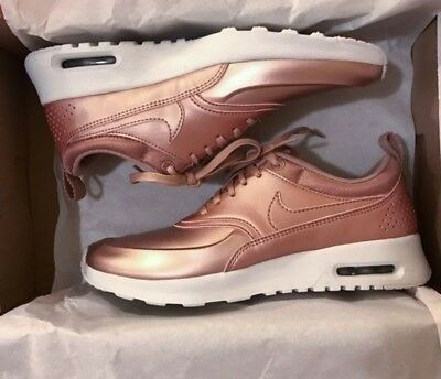 37 Eur 00 Max Air Gold Fr Nike Femme Thea 50 Picclick Rose Basket 5 PXHAx
