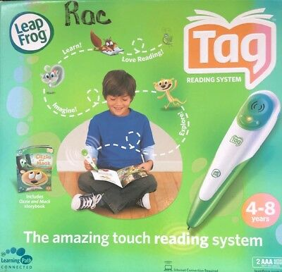 Leap Frog Tag Reading System