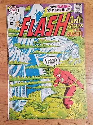 The FLASH #176 DC Comics 1968 Silver-Age Ross Andru