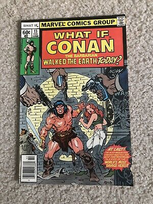 Marvel What If..? 13 Conan -Nice Copy- HOT BOOK!!