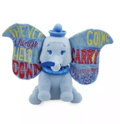 PREORDER Dumbo Disney Wisdom Collection Plush January Disney LE MEMORIES