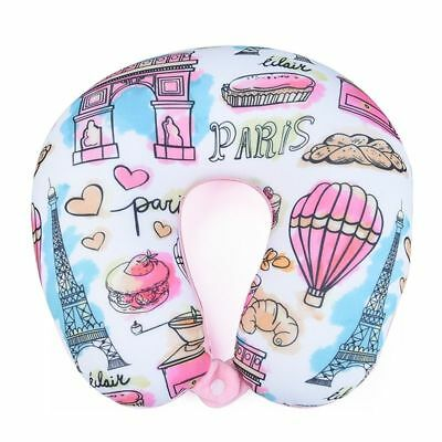 Neck Pillow Cushion Car Travel Neck Protection Foam Particles U-Shaped Pillow