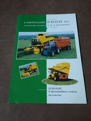Ford New Holland conversion based FX450 L'Articulee 5000 forager Racine French