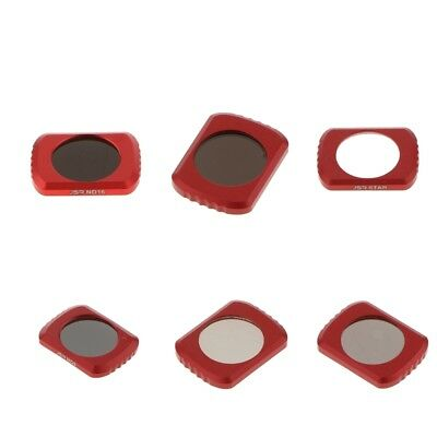 6 Pieces STAR/CPL/ND4/ND8/ND16/ND32 Lens Filter for DJI OSMO Pocket