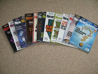 14 x New Scientist magazines bundle Issues from 2010