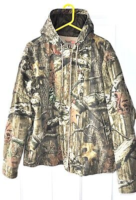 a1d12bdbdf88e RedHead Silent Hide Size XL Mens Full Zip Hooded Jacket Quilted Lining Camo
