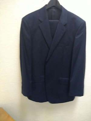 "TM Lewin suit - Navy Blue Chest 43"" Waist 36"" Leg 32"""