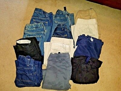 Euc Boys Sz 10 The Children's Place & Arizona 12 Pc Lot Jeans Pants Clothing