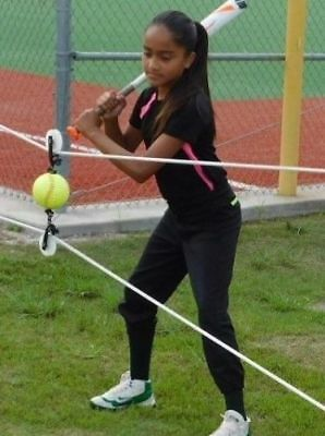 Rip-Cords:  Fastpitch Softball Practice Aid & Swing Trainer - New Concept !