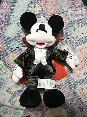 Vampire Mickey Plush, NWT