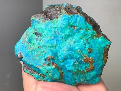 New!! Aaa+++ Top Quality Gem Silica Chrysocolla Rough 2 Lbs - Peru