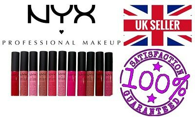 💄 NYX SOFT MATTE 💄 LIP CREAM 💄 SEALED  UK SELLER FREE POSTAGE ❤️  Love SHADES