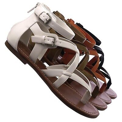 32575514fce MEN S ROMAN GLADIATOR Strappy Sling Back Open Toe Sandals Slides ...