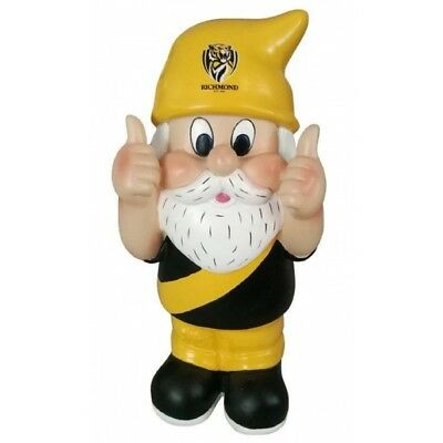 Richmond Tigers Official AFL Thumbs Up Garden Gnome Gift Box 30cm