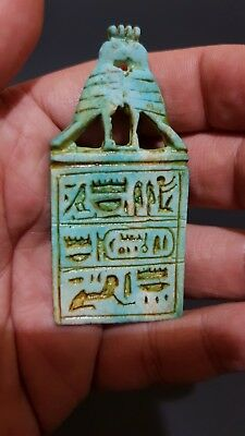 RARE ANCIENT EGYPTIAN ANTIQUES EGYPT TALISMAN AMULET EGYPT Hand Carved Stone BC